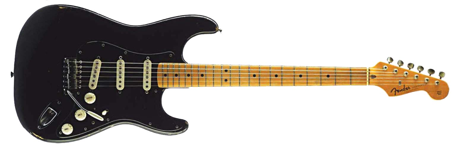 Fender Black Strat David Gilmour