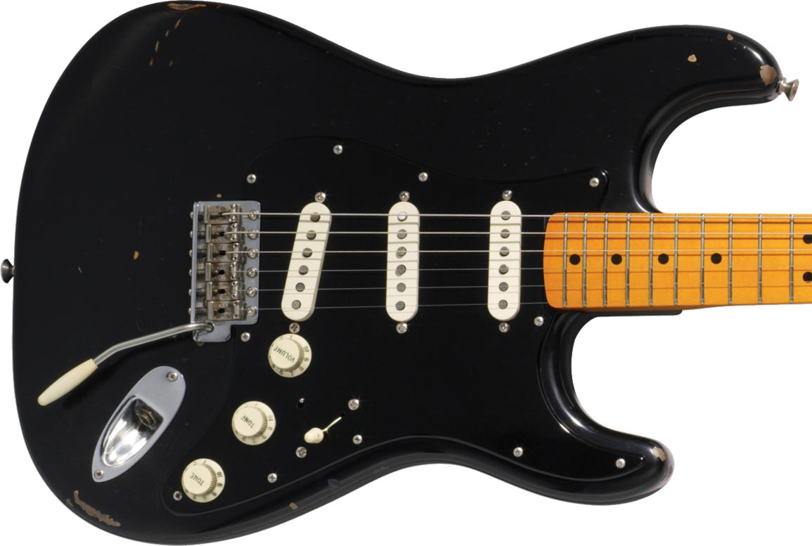 Fender Black Strat David Gilmour 3