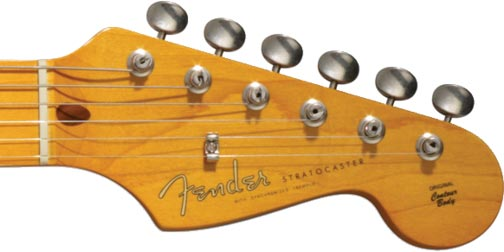 Fender Black Strat David Gilmour 4