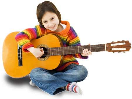 Niña Guitarra Clásica