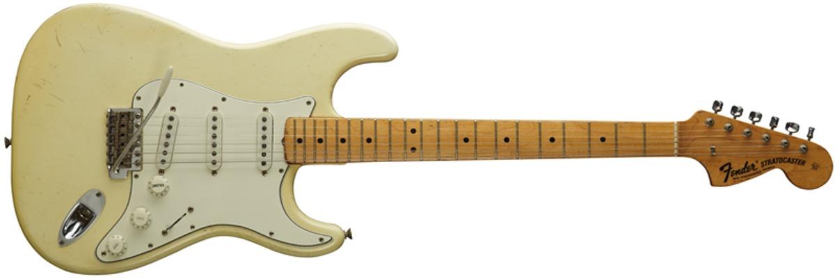 Fender 1968 Woodstock Stratocaster Jimi Hendrix