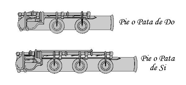 Pie Flauta Travesera