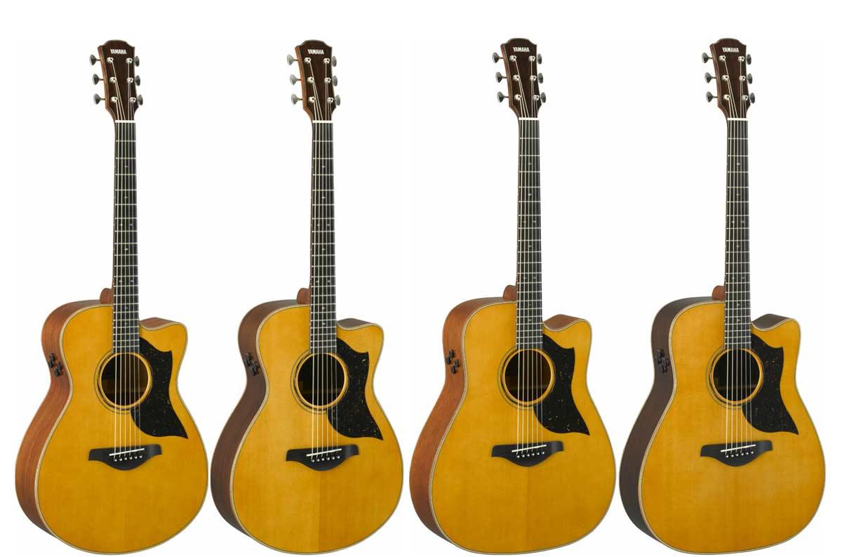 Nuevas guitarras acústicas Yamaha A5 y AC5