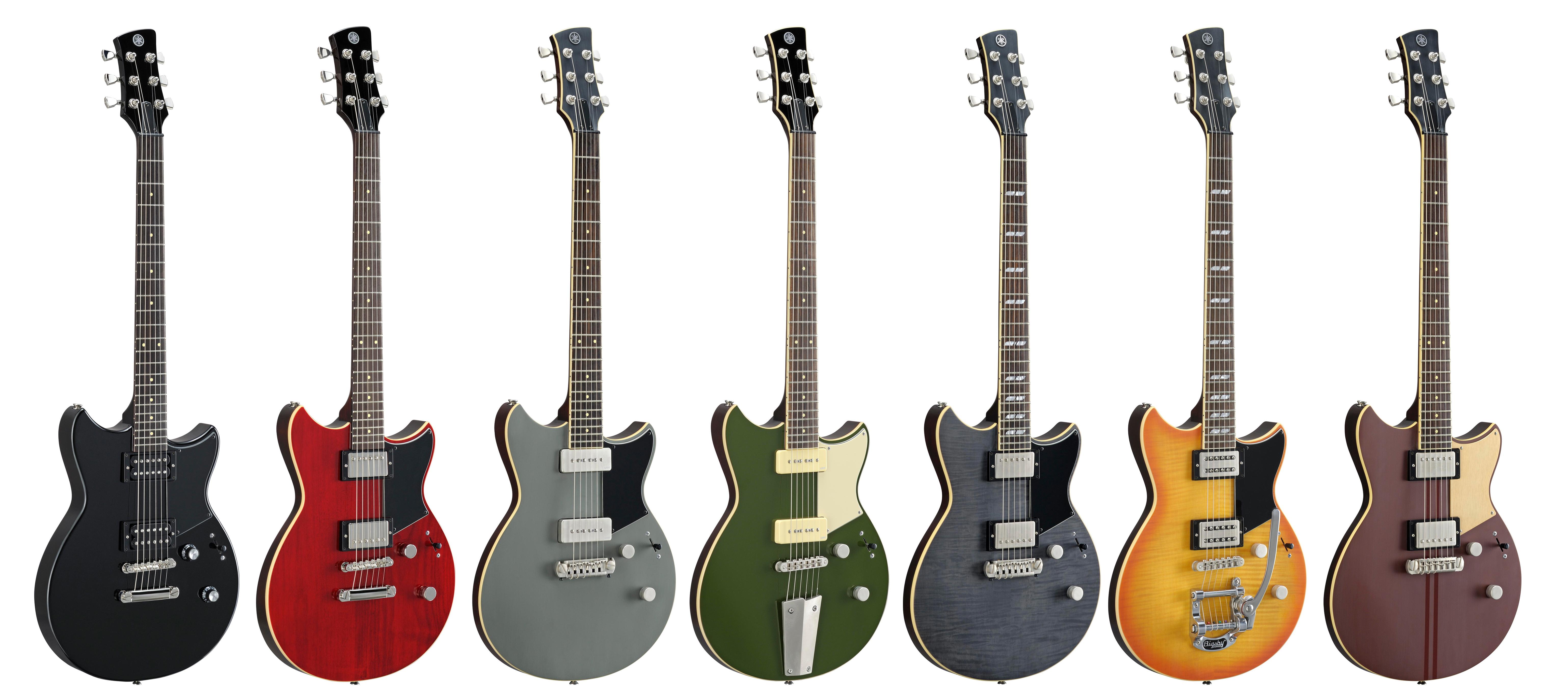 Compra en Multisononline la nueva serie de guitarras Yamaha Revstar