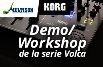 Workshop de Korg Volca en Multison