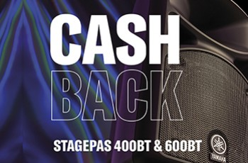 Cash Back Stagepas 400BT y 600BT