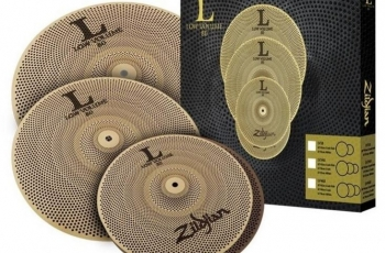 Zildjian Set L80 Low Volume: platos hasta un 80% más silenciosos